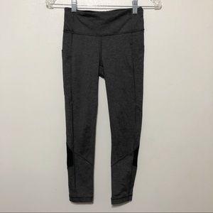 Lululemon Pace Rival Crop Gray size 2 Pockets